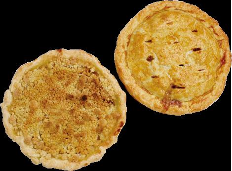 アップルパイ2種
